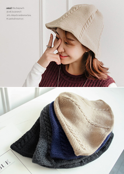 Twiddle Wool Hat JA1053 beonggeoji