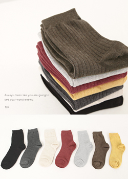 Corrugated Erie socks JA0697