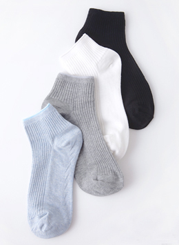 Sneakers ribbed socks JA04594