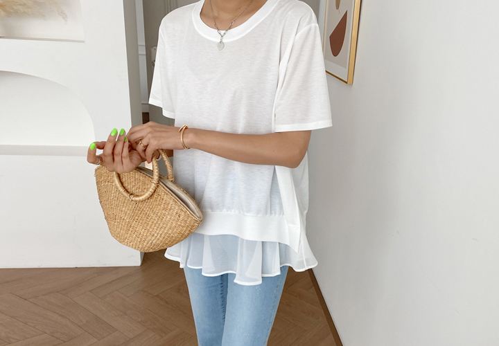 Wivin's frill blouse JB04612