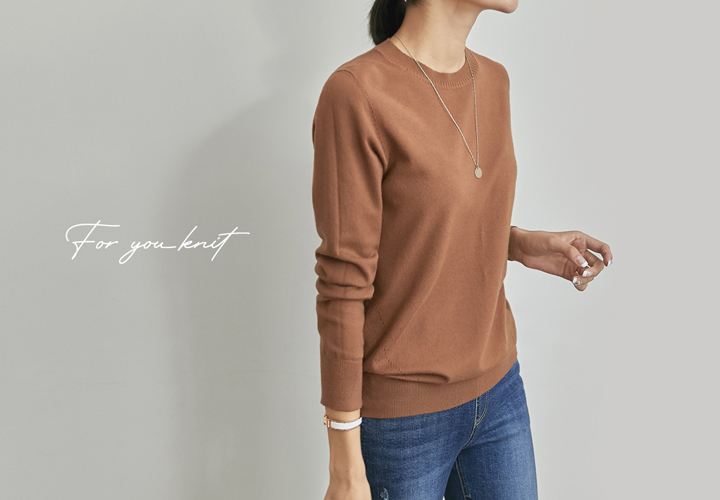 MJ™ For You Basic Round Knit JT05636