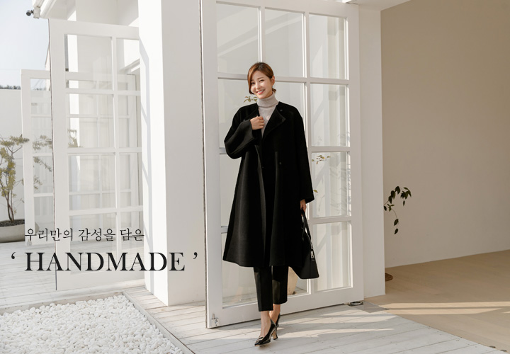 [BLACK EDITION] Celine Handmade Coat JJ04590