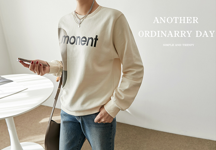 Moment Man-to-Man Tee JT05825