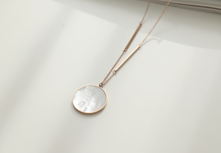 Nouvelle mother-of-pearl long necklace JA04868