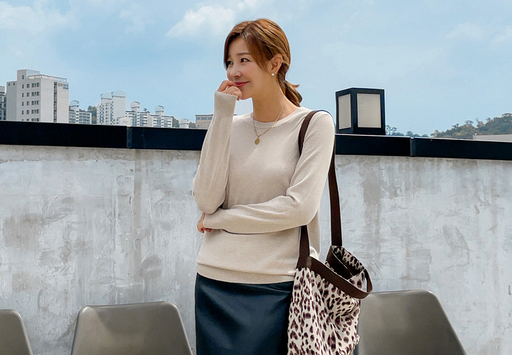 MJ™ For You Basic Round Knit JT06650